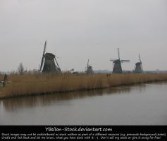 Kinderdijk 1 by YBsilon-Stock