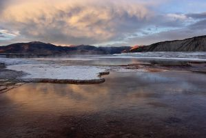 Clouded Hot Springs by papatheo