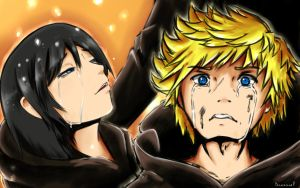 see you again... Roxas by Draxnoel