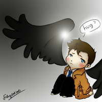 SPN - ...hug? by fishydotlove