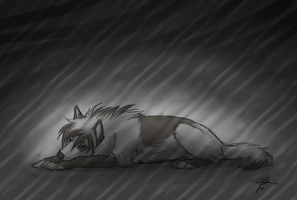I'm just so tired by MayhWolf