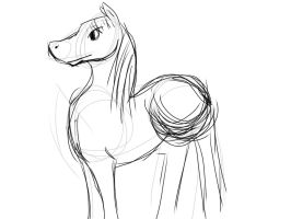 SKETCH A HORSE by JOW718