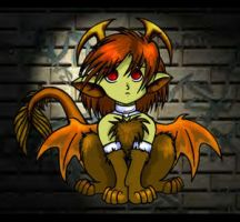 Little Chimera-color by Nishomay