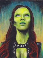 Gamora by MariaBruggeman