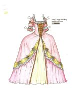 1700's gown by Liana by BitterLilly