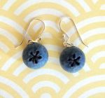 Blueberry Earrings... ? by KawaiiCulture