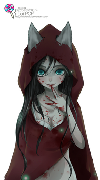 Red Riding Hood Render -2- by LiliLolaLolita