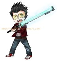 Mini Travis Touchdown by Yoshiie