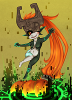 Twilight Princess Midna by Myra-Avalon