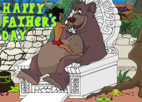 HAPPY FATHERS DAY by b1k