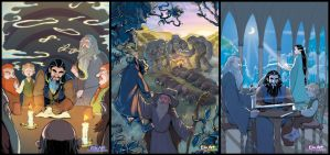 The Hobbit - Chapters 1-2-3 by P-JoArt