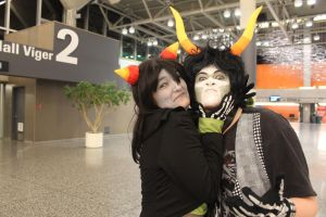 HOMESTUCK DERRRRRP AT COMIC CON13 by Midnight-Dance-Angel