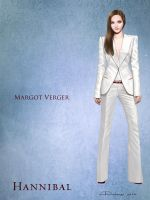 Margot Verger - Costume sketch by AlessiaPelonzi