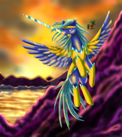 Adorabubble - Patchy Sunset by fluffycawwot