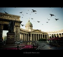 Kazan Cathedral. by GoPetr