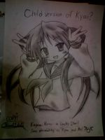 Kagami Hiragi in Lucky Star by kittyhero12