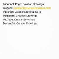 All My Social Media Sites by creationdrawings