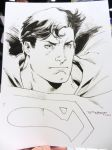 Superman doodle - SDCC 2014 by aethibert