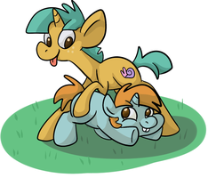 Snips and Snails by PonyGoggles