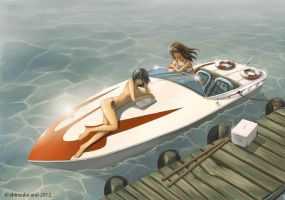 Speedboat by dead-robot