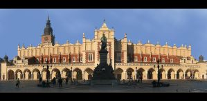 Cloth Hall On Market Square In Cracow by skarzynscy