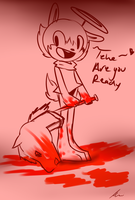 No this is ketchup :D by McButterFingers