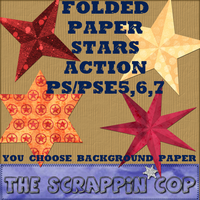 Folded Star Action 2 by debh945