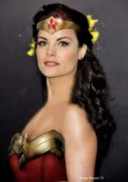 Jaimie Alexander as Wonder Woman by renstar71