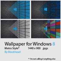 Wallpaper for Windows 8, Metro Wall by glange65