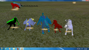 lololol FH dance line with Derpy woooo by shadowsrequests