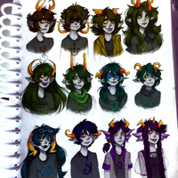 A whole bunch of fantrolls by Magdaleen-96