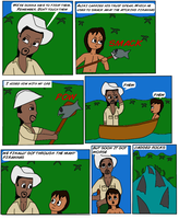 Jungle Jake and the Forbbiden River Page 3 by Dragonrider1227