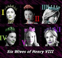 the six queens of Henry VIII by Lucrecia-89