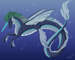 Water Horse by Renathory