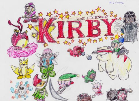 The Legend of Kirby by SuperSmashSis