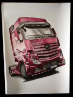 Mercedes Actros MP4 by Mnichuu