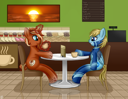 Commission for BlueNexus3D by Violetdreamzz
