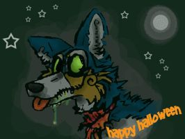 Zombie Syber Wishes by Syberwolf