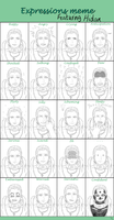 Hidan Expressions Meme by Gingersnap87