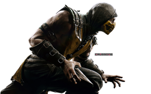Mortal Kombat X  - Scorpion Render by Crussong