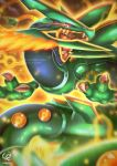 HEAVENS WRATH - MEGA RAYQUAZA'S ASCENT by CHOBI-PHO