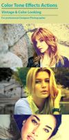 Color Tone Effects Actions by SelenaParker