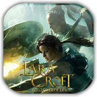 Lara Croft GOF Game Icon by Wolfangraul