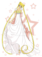 Princess Serenity by SiriouslySiris