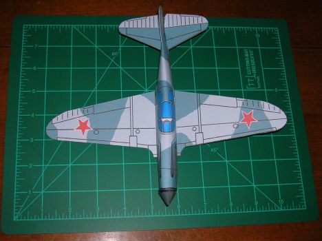 Lagg3 built paper model by falcon01