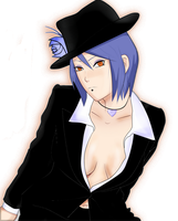 Konan look tanguera xD by integrakonanosaki