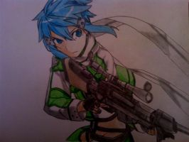 Sinon - SAO 2/GGO by Ticker360
