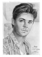 ZAC EFRON_1 DAY_Sketch_2011 by BenavolutionArt