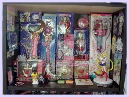 2015 June SM Collection Shelf 2 by kuroitenshi13