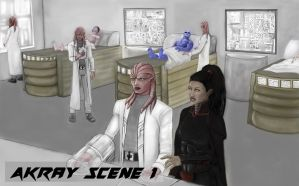 Akray and alina book 1 panel 1 concept by Vortican